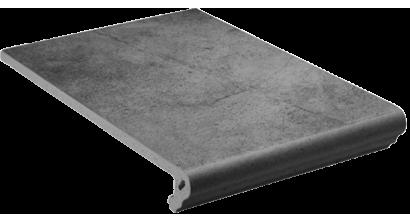Клинкерная ступень флорентинер Stroeher Keraplatte Aera 710 crio, 340x294x12 мм, фото номер 1