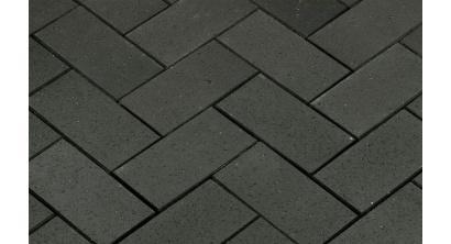 Брусчатка тротуарная клинкерная Penter Baltic Grafit, 200x100x52 мм, фото номер 1