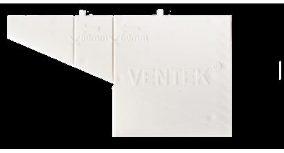 Вентиляционно-осушающая коробочка VENTEK универсальный формат, белая, фото номер 1