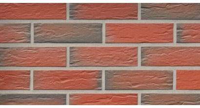 Фасадная плитка клинкерная Roben Rhoen Bunt genarbt рельефная NF9, 240*9*71 мм, фото номер 1
