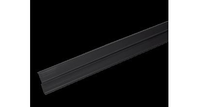 Прижимная планка (планка примыкания) LUXARD, черная, фото номер 1