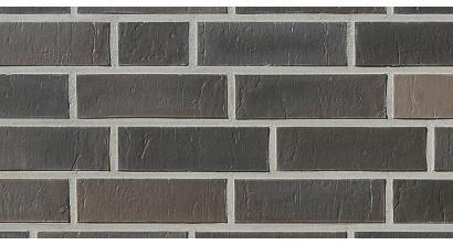 Кирпич клинкерный облицовочный пустотелый Roben Chelsea basalt-bunt риф 240*115*71 мм, фото номер 1