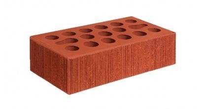 Кирпич керамический облицовочный пустотелый Керма Красный бархат 250*120*65 мм, фото номер 1