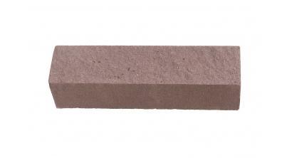 Кирпич силикатный облицовочный полнотелый Павловский завод Антик колотый коричневый 250*60*65 мм, фото номер 1