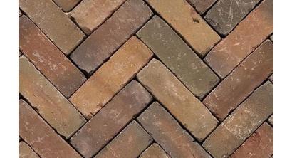 Клинкерная тротуарная брусчатка ручной формовки Penter Varia wasserstrich tumbled 200х65х65 мм, фото номер 1