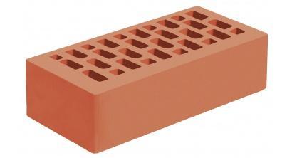 Кирпич керамический облицовочный пустотелый Голицынский КЗ Красный гладкий 250*120*65 мм, фото номер 1