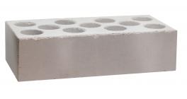 Кирпич силикатный облицовочный пустотелый Павловский завод белый 250*120*65 мм фото