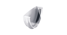 Заглушка желоба ТехноНИКОЛЬ (Verat) белый, D 125 мм фото
