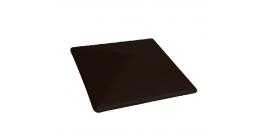 Клинкерный колпак для забора Lode Kryptom малый, 445*445*90 мм фото