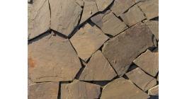 Песчаник рваный край серо-зеленый Гранит Групп, 10-15 мм фото
