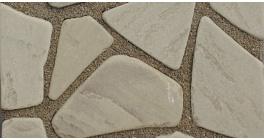 Песчаник серо-бурый галтованный, 25-35 мм фото