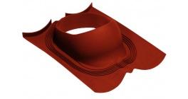Проходной элемент для Decra (панели Classic) LUXARD, RR28 красный фото