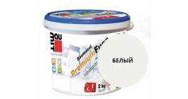 Затирка для швов Baumit Baumacol PremiumFuge белый, 25 кг фото