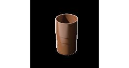 Муфта трубы ТехноНИКОЛЬ (Verat) коричневый, D 82 мм фото