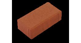 Тротуарная плитка Меликонполар Брусчатка 7П.6 красный, 200x100x60 мм фото