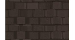 Мягкая кровля CertainTeed Belmont (2,23 м2/уп) Black Granite фото