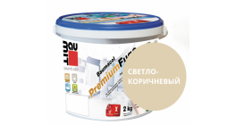 Затирка для швов Baumit Baumacol PremiumFuge светло-коричневый, 25 кг фото