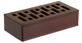 Кирпич керамический облицовочный пустотелый RECKE 5-92-00-0-00 коричневый 250*120*65 мм фото