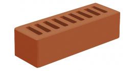 Кирпич керамический облицовочный пустотелый Голицынский КЗ Корица темно-красный гладкий 250*85*65 мм фото