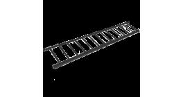 Снегозадерживающая решетка BRAAS 200*2500 мм, черный фото