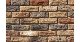 Искусственный камень White Hills Брюгге брик угловой элемент цвет 319-45 фото