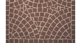 Тротуарная клинкерная мозаика Feldhaus Klinker М402DF gala plano, 240*118*52 мм фото
