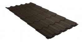 Металлочерепица Гранд Лайн (Grand Line) Kvinta Velur20 0.5 RR 32 темно-коричневый фото