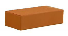 Кирпич керамический облицовочный полнотелый КС-керамик Терракот гладкий 250*120*65 мм фото