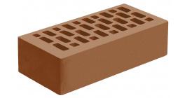 Кирпич керамический облицовочный пустотелый Голицынский КЗ Терракотовый гладкий 250*120*65 мм фото