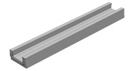 Мелкосидящий лоток Gidrolica BGF DN100 кл. С250, 1000*160*80 мм фото