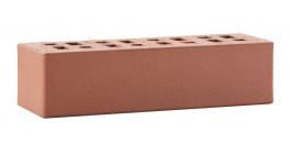Кирпич клинкерный облицовочный пустотелый ЛСР Эдинбург темно-красный гладкий 250*85*65 мм фото