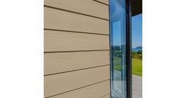 Фиброцементный сайдинг Cedral Lap Wood C11 Золотой песок, 3600*190*10 мм фото