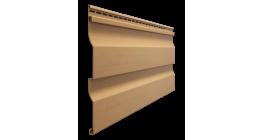 Виниловый сайдинг Docke Premium, Корабельный брус D4.5D, карамель, 3600*232*1 мм фото