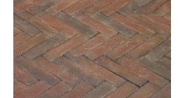 Клинкерная тротуарная брусчатка ручной формовки Penter Ravenna 200х50х85 мм фото