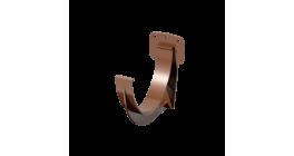 Кронштейн желоба ТехноНИКОЛЬ (Verat) коричневый, D 125 мм фото
