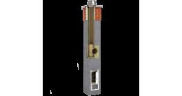 Комплект дымохода SCHIEDEL UNI одноходовой без вентканала 4 п.м, 36*36 см, D 20 см фото
