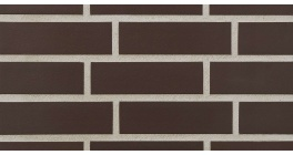 Фасадная плитка клинкерная Stroher Keravette Chromatic 210 braun гладкая NF11, 240*71*11 мм фото