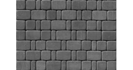 Тротуарная плитка ВЫБОР Классико серый, Б.1.КО.6 фото