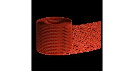 Вентиляционная лента BRAAS красная, 5 м фото