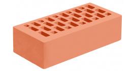 Кирпич керамический облицовочный пустотелый Голицынский КЗ Абрикосовый гладкий 250*120*65 мм фото