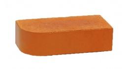 Кирпич керамический облицовочный радиусный полнотелый Terca Red гладкий 250*85*65 мм фото