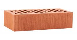 Кирпич керамический облицовочный пустотелый ЛСР Красный тростник 250*120*65 мм фото
