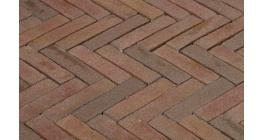 Клинкерная тротуарная брусчатка ручной формовки Penter Ravenna 240х65х80 мм фото