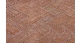 Клинкерная тротуарная брусчатка ручной формовки Penter Bruno, 200х100х70 мм фото
