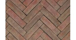 Клинкерная тротуарная брусчатка ручной формовки Penter Novoton, 200х50х85 мм фото