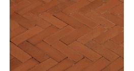 Клинкерная тротуарная брусчатка ручной формовки Penter Bruno wasserstrich, 200х65х85 мм фото