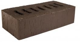 Кирпич клинкерный облицовочный пустотелый Kerma Premium Klinker Коричневый риф 1NF 250*120*65 мм фото