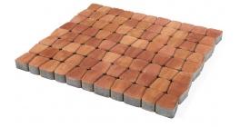 Тротуарная плитка Браер Классико круговая Color Mix Рассвет, 73*110*115*60 мм фото