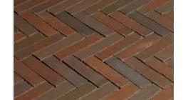 Клинкерная тротуарная брусчатка ручной формовки Penter Novoton wasserstrich, 200х50х85 мм фото