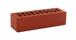 Кирпич керамический облицовочный пустотелый КС-керамик Красный гладкий 250*85*65 мм фото